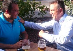 Roberto Brasero charla sobre cerveza