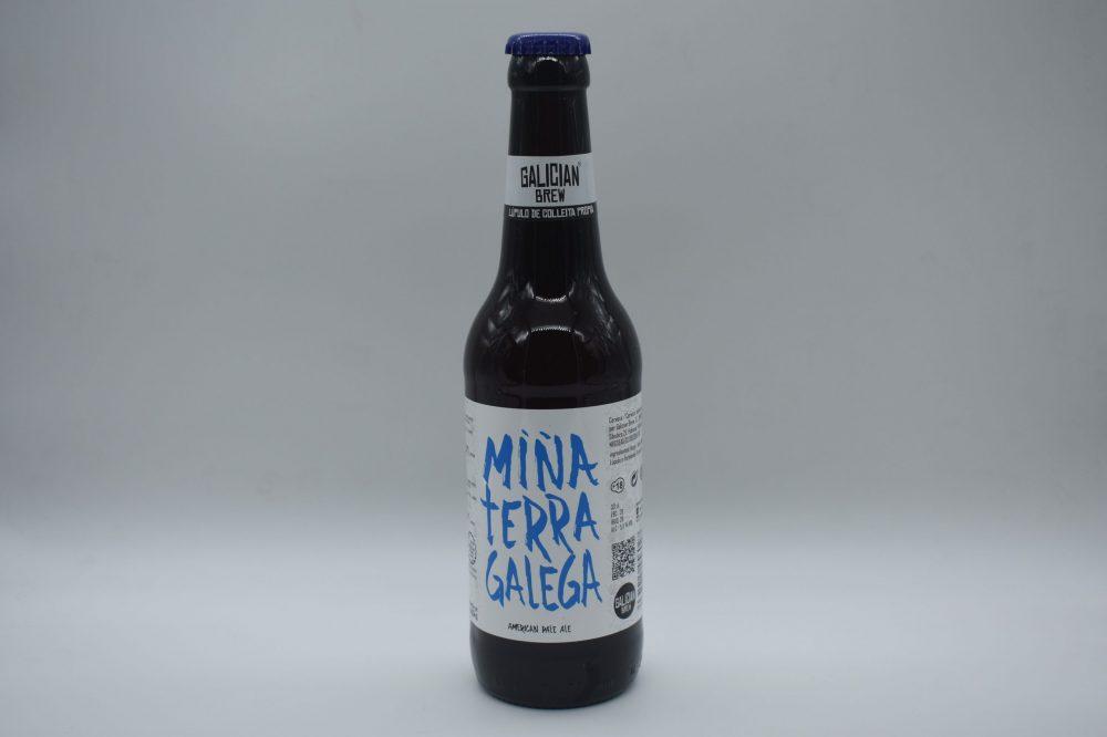 cerveza gallega miña terra galega