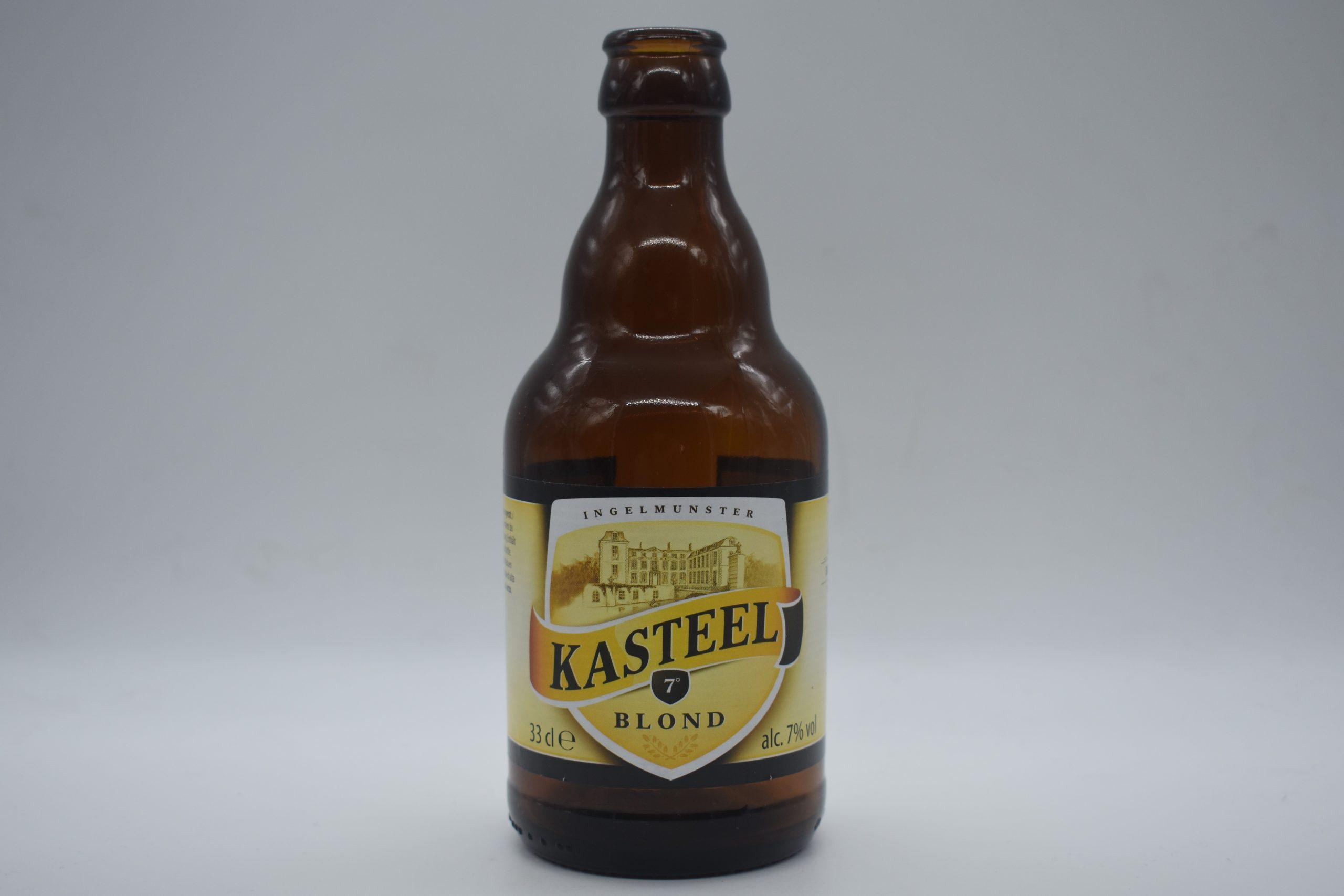 Cervezas belgas. Kastel blond