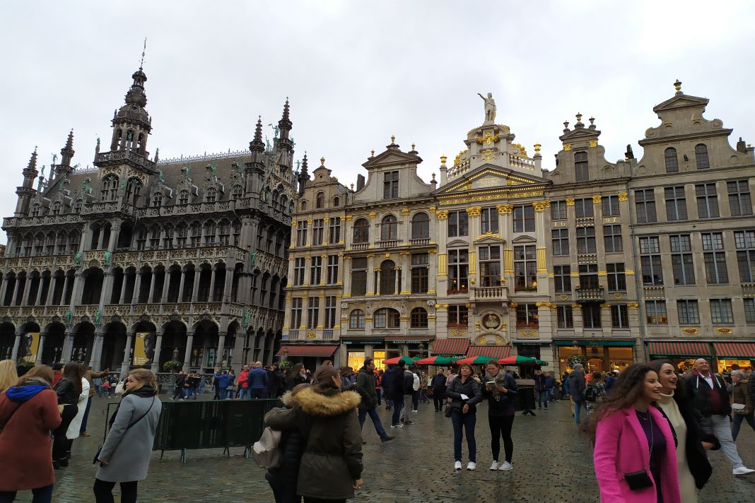 La Grand-Place Plaza de Bruselas Ayuntamiento