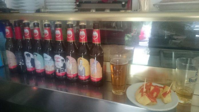 Tercios de El pelotari y la Fallera. El Quiosco Madrid