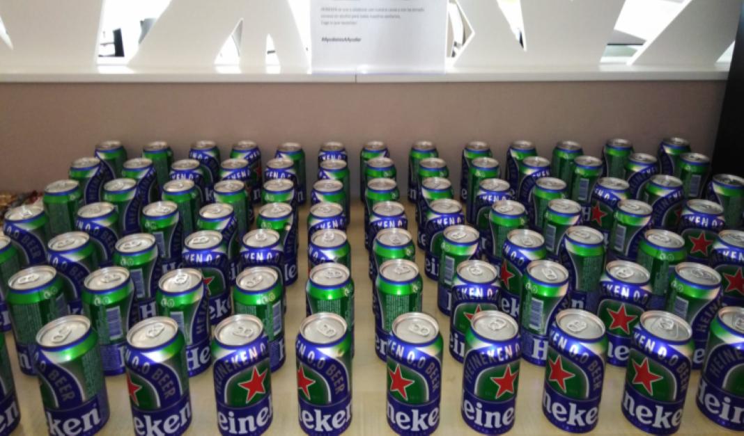 Latas Heineken 0.0