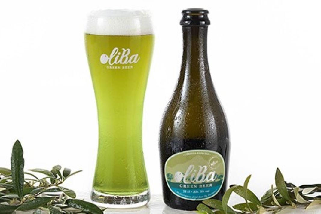 Oliba green beer Cerveza de aceituna