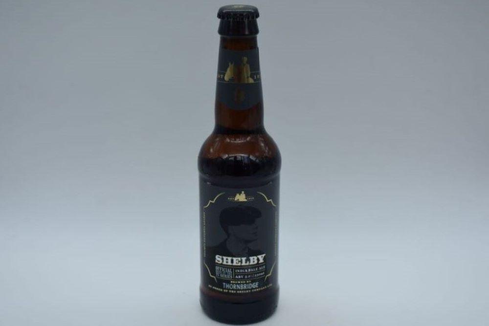 Cervezas inglesas cerveza shelby