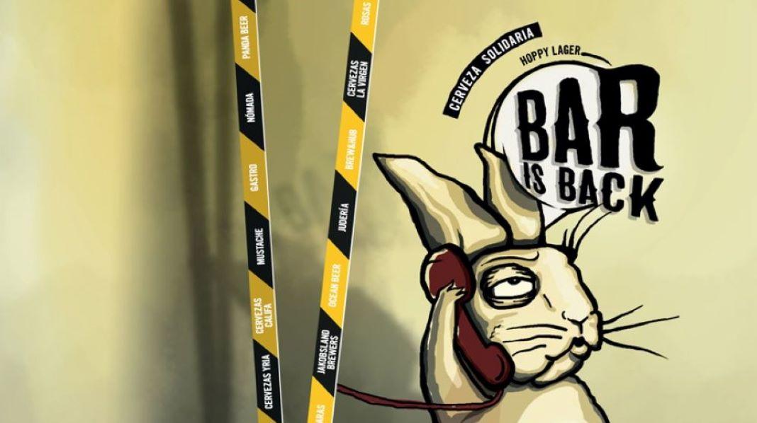 Cerveza artesana solidaria bar is back