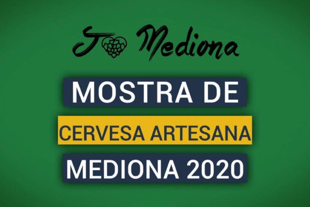 Cartel de Mediona Muestra de Cervecería artesana 2020