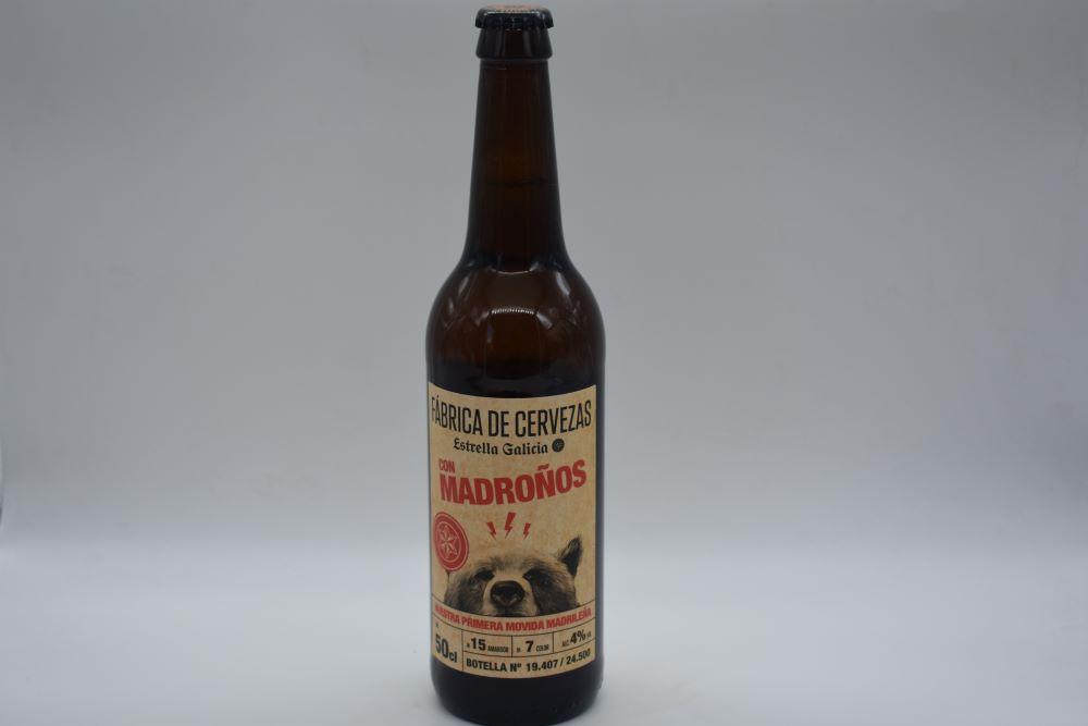 cerveza con madroños