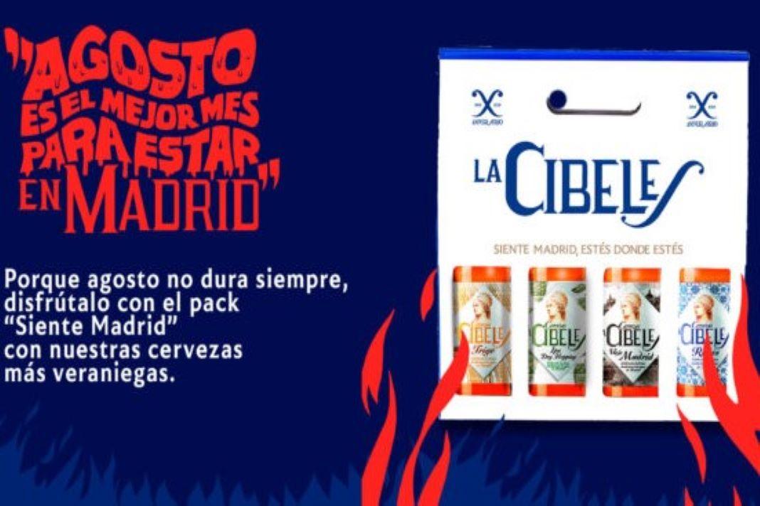 cerveza madrileña Cibeles