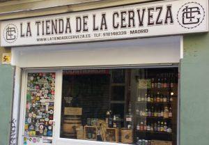 Tiendas cerveza Madrid