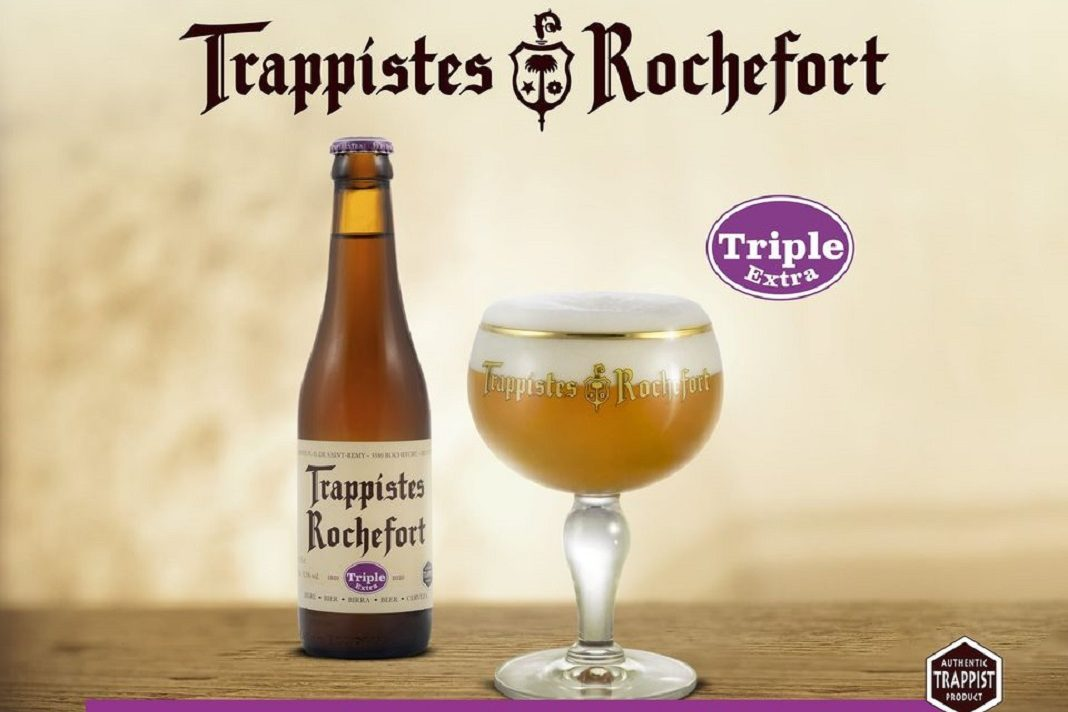 Cerveza Trappistes Rochefort Triple Extra