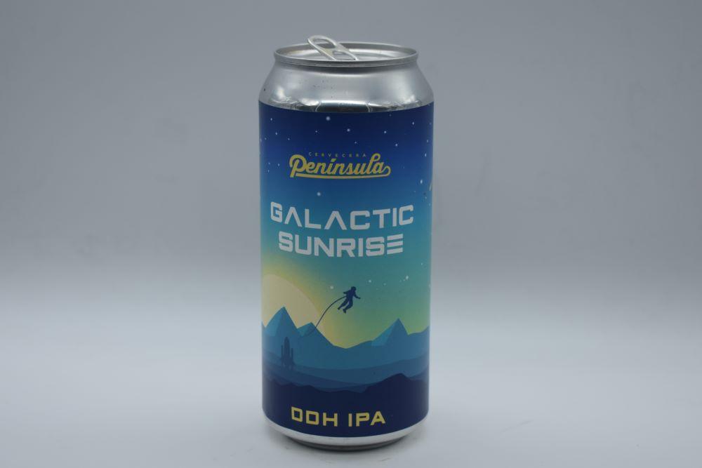 cerveza galactic sunrise peninsula