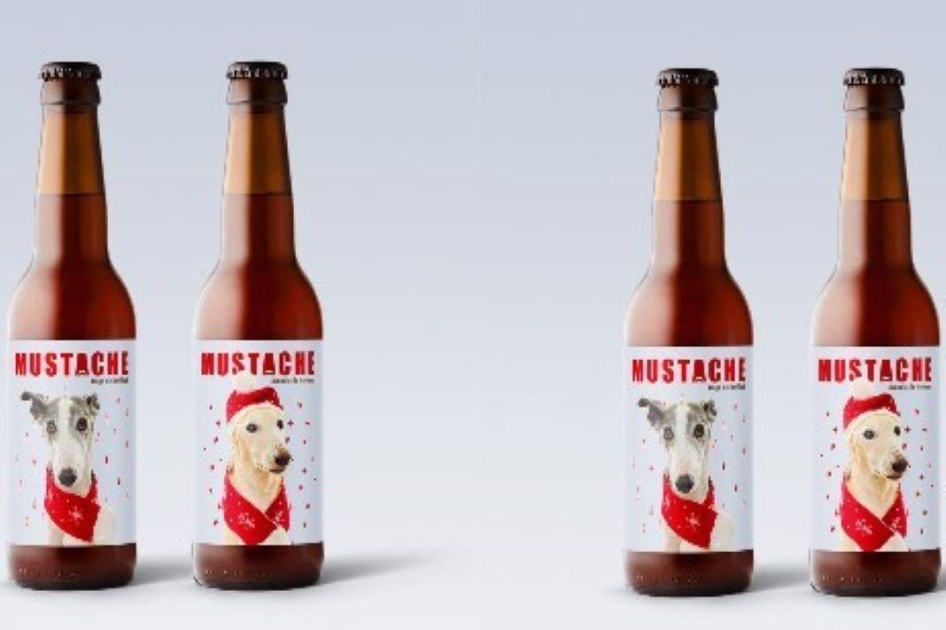 cerveza gallega mustache