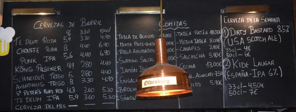 cervecería Oldenburg
