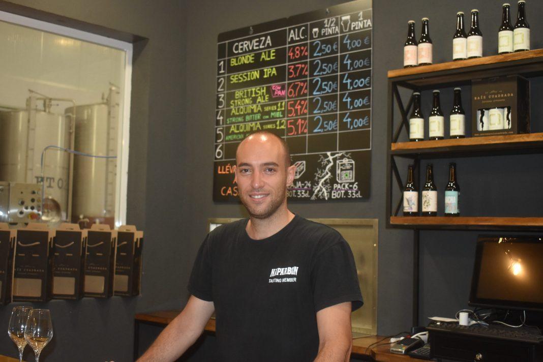 cerveza Raíz cuadrada Héctor García