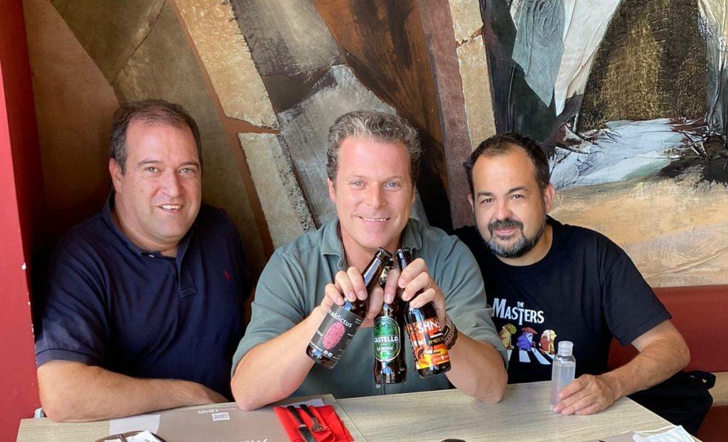 Jota Abril y el santaurio de la cerveza